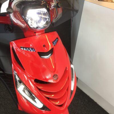 Piaggio Zip SP AUDI LOOK LED RED RS E5 25-45km 4 takt NIEUW